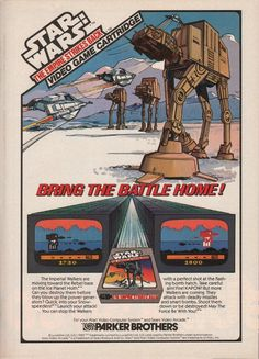 Star Wars: Empire Strikes Back Atari 2600 ad- Biggest Disappointment of my young life... LOL