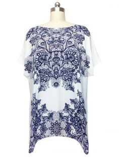 GET $50 NOW | Join RoseGal: Get YOUR $50 NOW!http://m.rosegal.com/plus-size-tops/stunning-cap-sleeve-floral-blouse-for-women-625947.html?seid=6303115rg625947