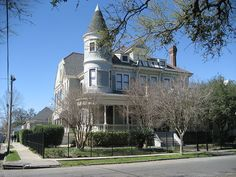 Victorian House in New Orleans Louisiana