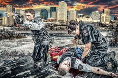 Officer: Death isn't the worst-case scenario for a cop. Officer Down, Police Officer, Tactical Medic, Police Activities, Fallen Officer, Firefighter Paramedic, Patriotic Pictures, 1st Responders, Police Life