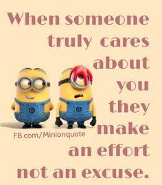 Effort not Excuse!