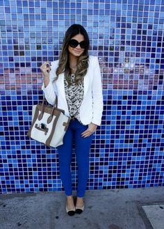 Blue Pants - Thassia Naves