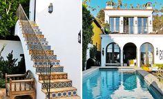 25 Modern Backyard Ideas to Create Beautiful Outdoor Rooms in Moroccan Style – Lushome Outdoor Stairs, Outdoor Rooms, Moroccan Design, Moroccan Style, Modern Backyard, Backyard Landscaping, Backyard Ideas, Garden Ideas, Barcelona