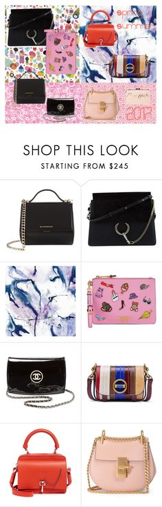 """""""spring summer trenf"""" by sabe-bela on Polyvore featuring moda, Givenchy, Chloé, WALL, Moschino, Chanel, Tory Burch, Carven y BCBGMAXAZRIA"""