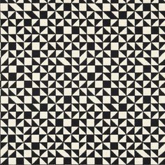 Always have loved this Checker Split upholstery fabric by Alexander Girard – available through Maharam