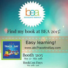 ABC Trace and Say was at Book Expo America in NYC