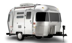 he airstream was the first of the now familiar sausage-shaped, silver aluminum Airstream trailers. Of more than 400 travel trailer builders operating in 1936, Airstream was the sole survivor of the Depression.