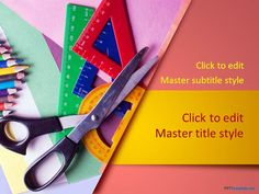Free Stationery PPT Template