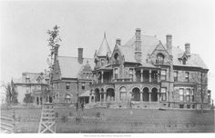 """Millionaire's Row"" ...1880-1900 era...Troost Street Big mansion was at 31st & Troost. In the 1880's an ""elite"" neighborhood developed on Troost between 26th and 32nd street. Became know at ""Millionaire's Row."" https://www.beauty-secrets.us/product/101homemade-remedies/"