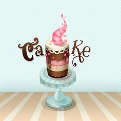 colorful_cake_illustration_by_secretmyth-d31jkdm