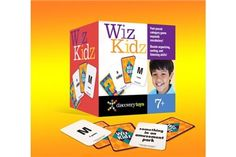 """Wiz Kidz - Discovery Toys A fast-paced game where you think of """"something cold that starts with G"""" or """"a musical instrument that starts with F"""""""