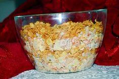 Sałatka ''królowa imprezy'' Krispie Treats, Rice Krispies, Kraut, Food Inspiration, Cereal, Cabbage, Oatmeal, Grilling, Grains