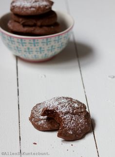 Lebkuchen-Schoko-cookies Repinned by www.gorara.com