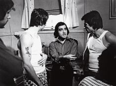 """Scorsese directs Robert De Niro (left) and Harvey Keitel (right) in """"Mean Streets."""" The Kobal Collection (Warner Bros.)"""