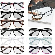 1 PC Men Women Fashion Frame Full Rim Computer Glasses Retro Eyeglass Spectacles Pure Colors by zdzdbuy Item specifics Item Type: Eyewear Accessories Eyewear Accessories: Frames Gender: Women Pattern Type: Solid Model Number: Glasses Frame Frame Material: Plastic Frame Material: Acetate Leg Length: : 13.8cm/5.43'' (approx.) Size:: 14cm/5.51'' in total width