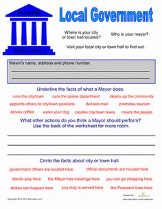 Printables Participation In Government Worksheets assessment student and the ojays on pinterest second grade civics government community cultures worksheets local government