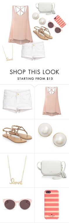"""""""Seaside Style """" by lillianb21 on Polyvore featuring Glamorous, Monsoon, Kate Spade, Sydney Evan and Christian Dior"""
