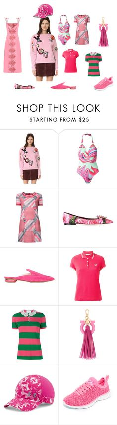 """Fashion group"" by emmamegan-5678 ❤ liked on Polyvore featuring Michaela Buerger, SUB, Missoni, Dolce&Gabbana, Nicholas Kirkwood, Moncler, Gucci, Salvatore Ferragamo, Under Armour and Athletic Propulsion Labs"