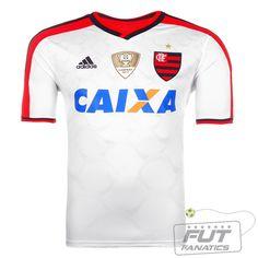 23ff5dc1c9 Camisa Adidas Flamengo II 2014 C  Patch - Fut Fanatics - Compre Camisas de  Futebol Originais Dos Melhores Times do Brasil e Europa - Futfanatics
