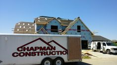 Chapman Construction of Evansville, IN prepping for a new roof install.