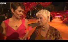 The Bonfire Hearts film production crew had a wonderful evening at the London premiere of The Second Best Exotic Marigold Hotel in Leicester Square. Our writer & director Fiona H Joyce was particularly keen to speak to Judi Dench about a role in her next film The Beautiful Game…