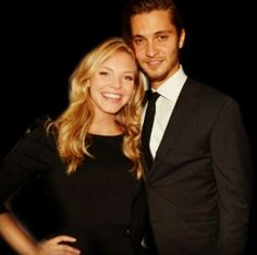 Kate & Elliot ♥ fifty shades of grey.  I love her, she's just so cute!