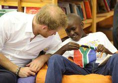 Prince Harry Photos - Prince Harry Visits Africa - Day 6 - Zimbio