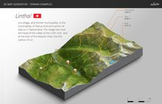 How to create a 3D Terrain with Google Maps and height maps in