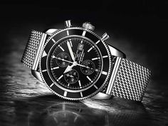 Breitling Super Ocean ... Probably the only Breitling I'd want to own. Maybe the one with their manufactured movement too.