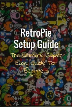 This is a step by step guide to creating your first retro gaming console using RetroPie. This RetroPie setup guide is written for people with very little programming knowledge and experience. If you (Step Children For Kids) Retropie Arcade, Bartop Arcade, Arcade Games, Arcade Room, Diy Arcade Cabinet, Arcade Console, Computer Projects, Electronics Projects, Electrical Projects