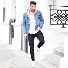 Hot Spring men's fashion style Outfit Ideas, Be the best dressed guy to Impress Your Girl Mode Lookbook, Fashion Lookbook, Mode Masculine, Casual Outfits, Men Casual, Fashion Outfits, Ootd Fashion, Style Fashion, Men Street