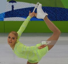 Finland's Kiira Korpi competes in the 2010 Winter Olympics women's figure skating short program at the Pacific Coliseum in Vancouver on February 23, 2010.