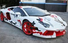Lamborghini Aventador☆ Custom Paint☆Camo☆