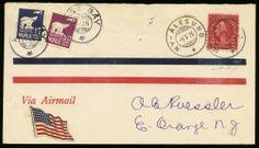 lotto 946 - Norvegia/USA - 1926 - primo volo sul Polo Nord con aereo - Comandante Richard E.Byrd - pilota Floyd Bennet - i due piloti, in anticipo di 3 giorni sull'impresa di Nobile, partirono da Kings Bay il 9.5.1926 per conquistare con un aereo il Polo Nord e, dopo un volo di 15 ore, raggiunto il Polo, tornarono alla base dopo un tragitto di 1.360 miglia
