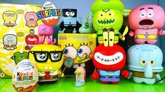 New Spongebob Squarepants Toys Full Set UNKL Unipo Kinder Surprise Egg O...