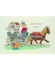 Anchor Country Companians The Wedding Cross Stitch Kit