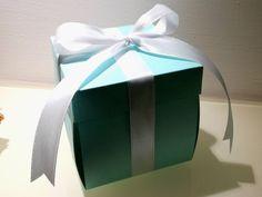 Partecipazioni Tiffany ad explosion box by Felt4Love on Etsy