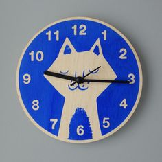 Cat's Whisker Clock - Lisa Jones