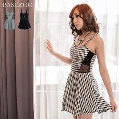Asian Fashion: provient de la marque BaseZoo, son nom est Mesh-Pael A-Line Dress que l'on peut voir sur le site Yesstule.com