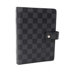 Louis Vuitton Agenda MM Damier Graphite Other Black Canvas R20242