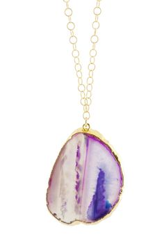 Falling in love with geodes all over again, thanks to Chicago designer Alicia Mohr.  #r29summerstyle