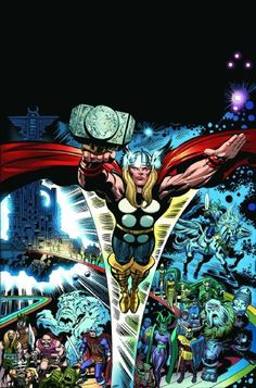 Thor: Tales Of Asgard By Stan Lee & Jack Kirby HC Kirby Cover (Thor (Marvel)) @ niftywarehouse.com