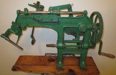 Vintage Rare Antique 1880s Bonanza Apple Peeler Corer Goodell Co. 19th Century #Goodell