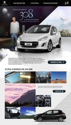 Peugeot 308 by Vinicius Sakamoto, via Behance