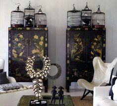 indochine cabinet wardrobe asian indochina asia top bird cage