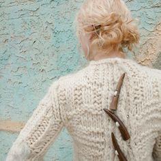 CHELSEY SWEATER | AMANDA HENDERSON KNITS