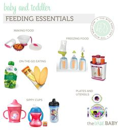 Baby Feeding Essentials - what we loved and what we can live without!