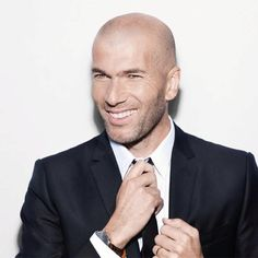 Zidane. Favorite soccer player of all time. Hotter than Beckham.