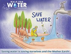 save water poster kids at DuckDuckGo Save Earth Drawing, Save Water Poster Drawing, Drawing For Kids, Poster On Save Water, Save Water Images, Save Water Slogans, Save Water Save Life, Earth Drawings, Earth Poster