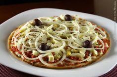 Piccola Pizzeria (jantar)    Pizza toscana  Requeijão, calabresa moida,ovos, cebola e azeitona